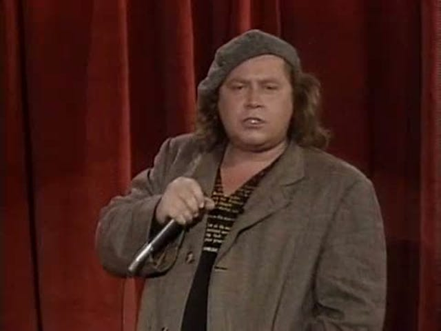 Rebutting Sam Kinison