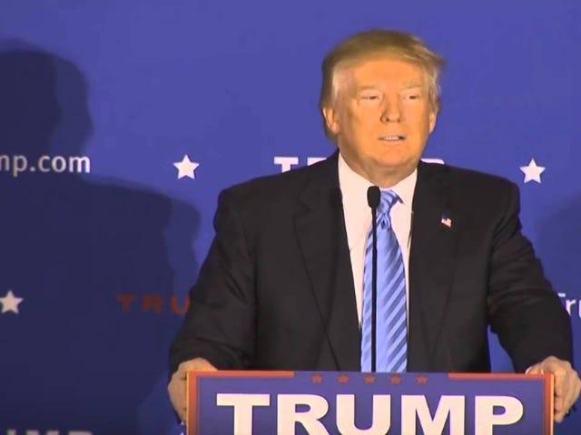"Trump expulsa torcedor que o chamou de ""chato"" durante um rali"