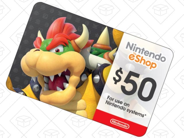 Download Some More Games To Your Switch Or 3DS With This Discounted Gift Card