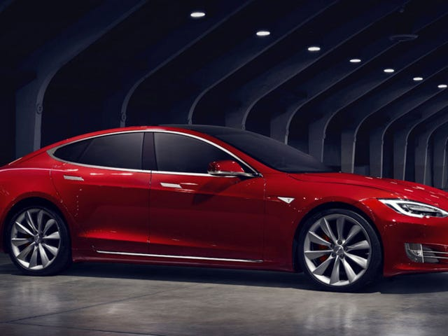 """El nuevo Tesla Malli S tiene una bateria ja grande que see """"desbloquear"""" pagando"""