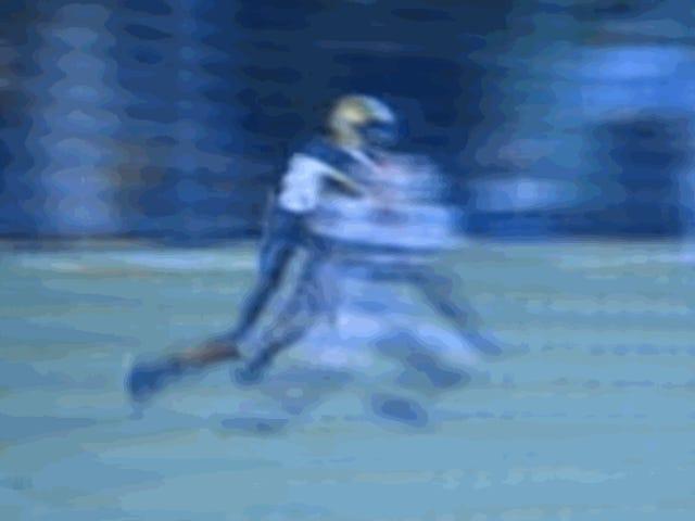 Greg Blue Sidewalk Slams Receiver