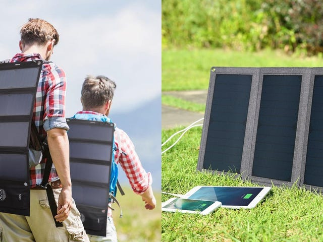 Let the Sun Charge Your Phone With These Discounted Solar Panels