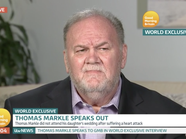 Meghan Markle's Dad Claims Prince Harry Told Him to 'Give Donald Trump a Chance'