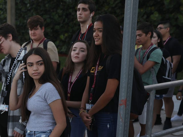 It's the First Day of School for Parkland Students, But Nothing Is the Same
