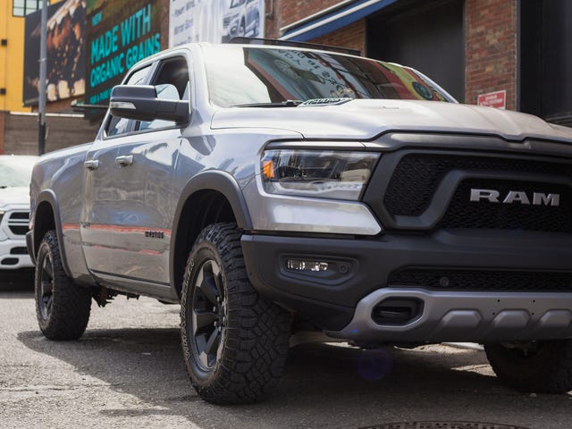 The 2019 Ram 1500's Interiors Were Inspired By Six Different Hammers