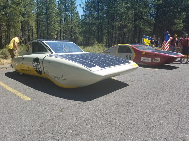 Completed the American Solar Challenge