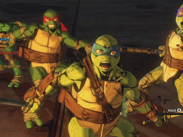 The New <i>Teenage Mutant Ninja Turtles</i> Game Is Best Played With Other People