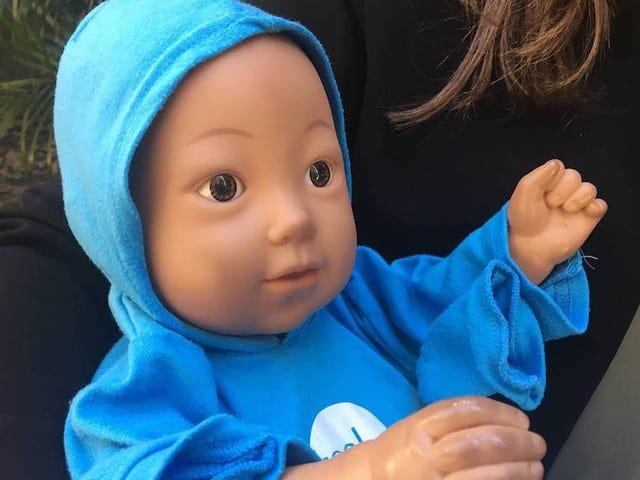 Sex Ed Robot Babies Are Doing a Bad Job at Stopping Teen Boning