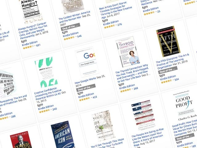 Collect Business Reads and Biographies, All Under $5 in Today's Kindle Sale