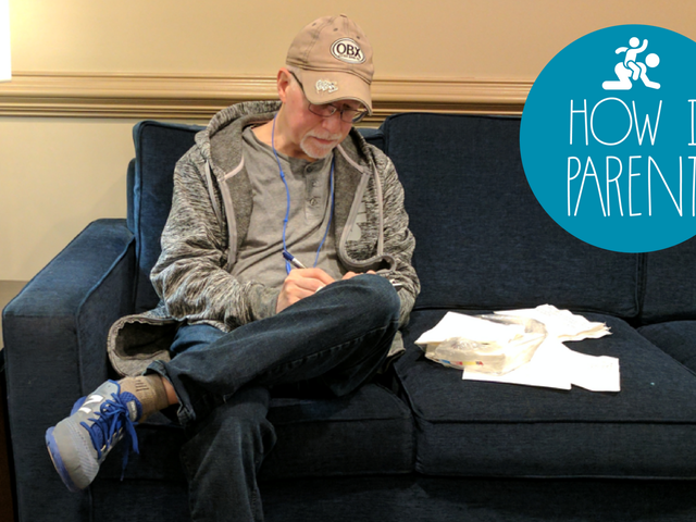 I'm W. Garth Callaghan, 'Napkin Notes Dad,' and This Is How I Parent