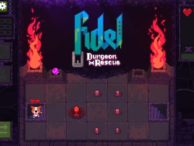 My New, Healthier Mobile Game Obsession Is Fidel: Dungeon Rescue