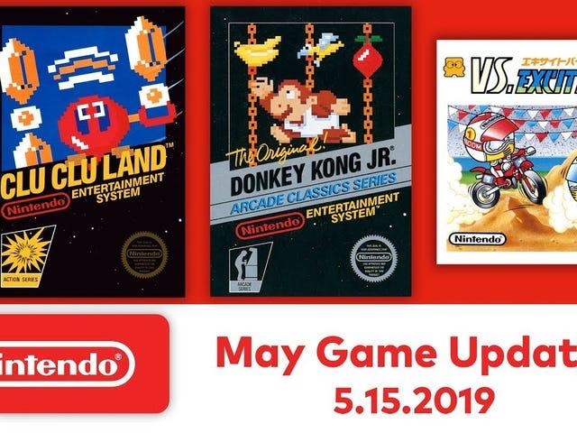 Nintendo Switch Ang susunod na batch ng mga laro ng NES ay dumating sa Mayo 15 at kabilang ang Donkey Kong Jr., Clu