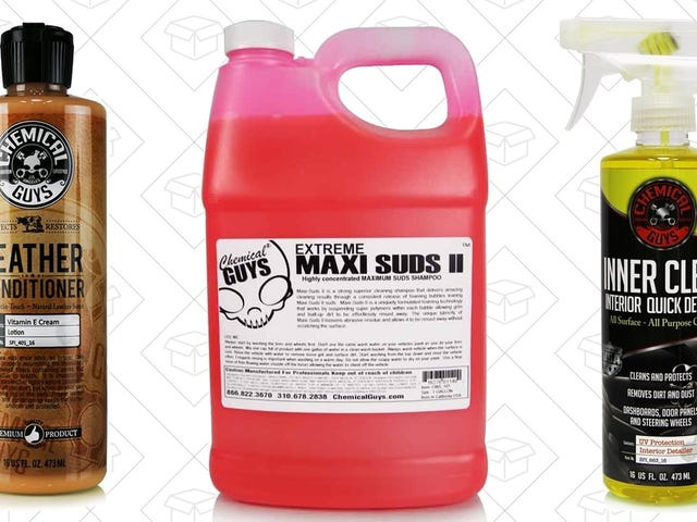 You'll Have the Shiniest Car on the Block With Amazon's Chemical Guys Sale