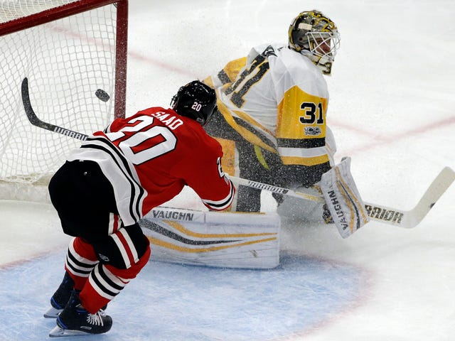 The Blackhawks Obliterated The Penguins