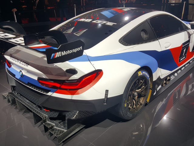 The M8 GTE Is BMW's Badass Return To Le Mans