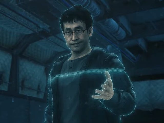 Hideo Kojima, trabaja con Junji Ito