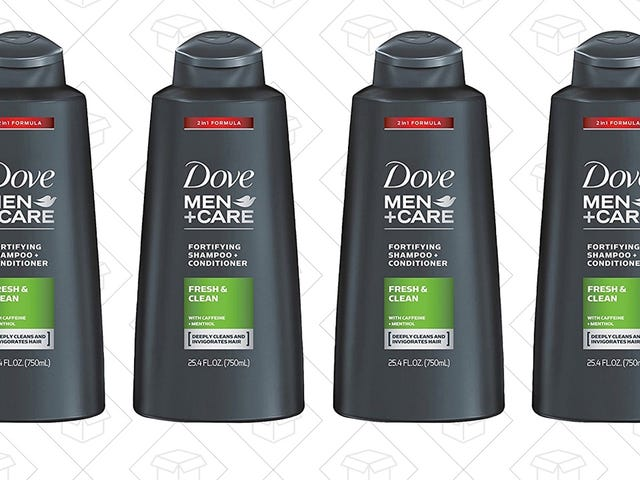 Why Risk Running Out of Shampoo? Get Four Bottles For $19 From Amazon.