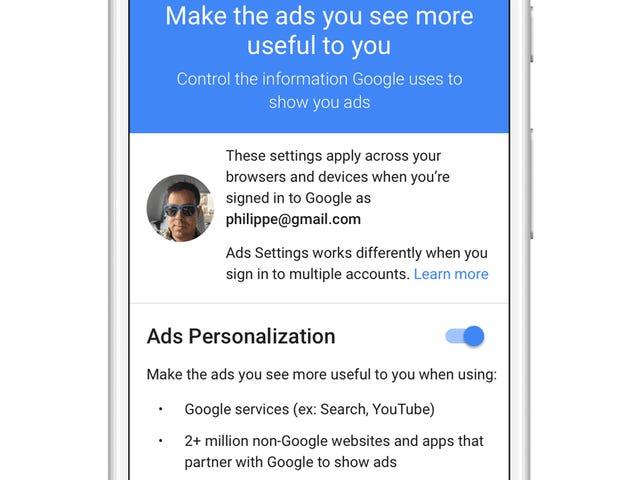 Hoe u die vervelende Google-advertenties dempt die u online volgen