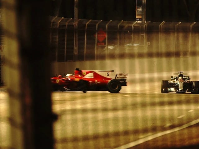 Moments in F1