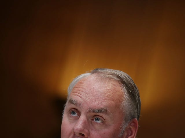 Ryan Zinke Has Taken His Rambling, Confused Thoughts on Climate Change and Wildfires All Over the Country
