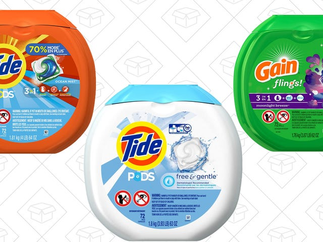 Save $2 On the Laundry Pods Of Your Choice