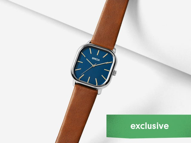 BREDA Is Taking 35% Off Some Of Their Classic, Stylish Watches [Exclusive]