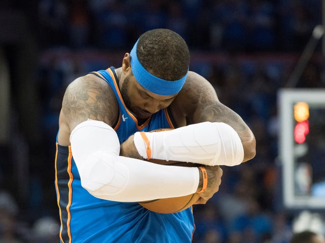 Carmelo Anthony Explains Why He Screams While Rebounding