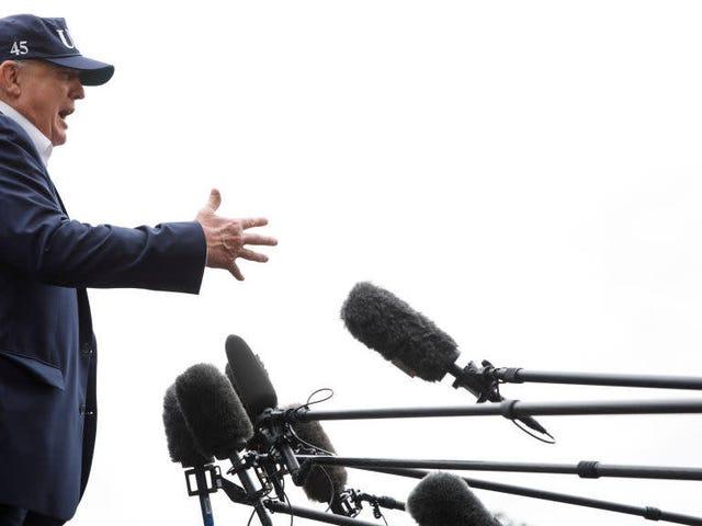 Tumulong sa Kampanya na Pinagtibay si Trump 'Puwersong Hinalik' ng kanyang Lawak ng Patak