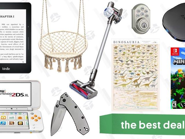 Monday's Best Deals: Cordless Dyson, Pop Chart Lab Sale, Kindle Voyage, and More