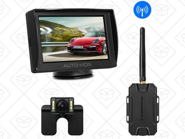 Install a Wireless Backup Camera In Any Car For Just $64