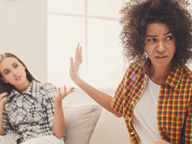 Stranger Danger: Random White Woman Narrowly Avoids Catching Hands After Touching Black Woman's Hair