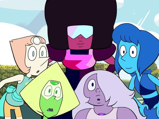 Steven volta à Terra em um clipe exclusivo do Steven Universe