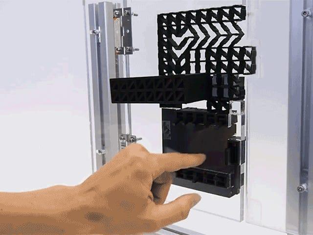 Kunci Pintu Bercetak 3D, yang Dilindungi oleh PIN tidak akan melindungi rumah anda tetapi ia pasti kelihatan sejuk