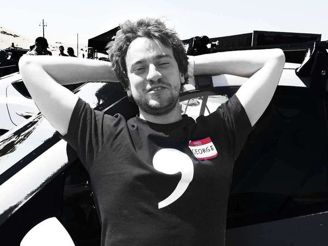 George Hotz and The World's First Autonomous Track Day