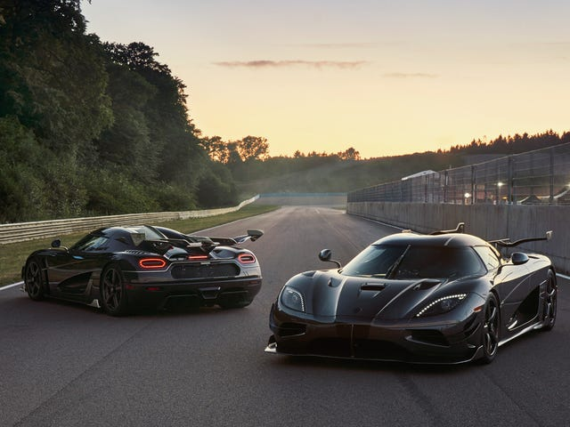Koenigsegg Is Naming Their Last Two Ageras After Badass Movie Characters