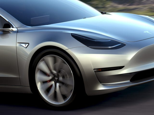 Here's How Tesla Is Designing The Model 3 To Be The Most Aerodynamic Car Ever Made