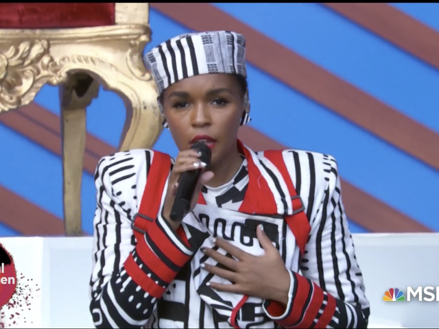 Janelle Monae Delivers a Strong Message of Support to Survivors of Sexual Violence