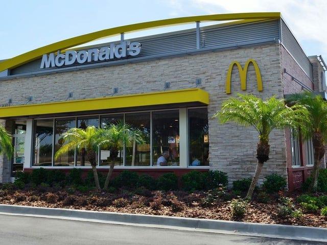 Χρησιμοποιήστε το υπόλοιπο νόμισμά σας στο McDonald's την Πέμπτη