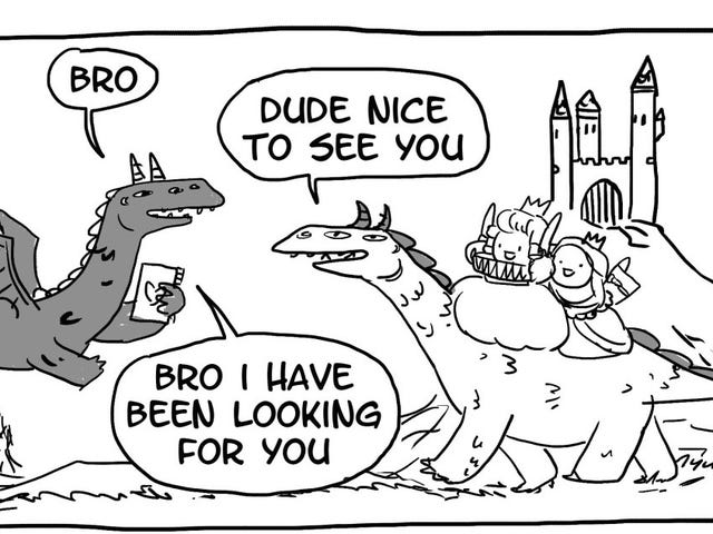 Dragon Bros Are the Best Bros