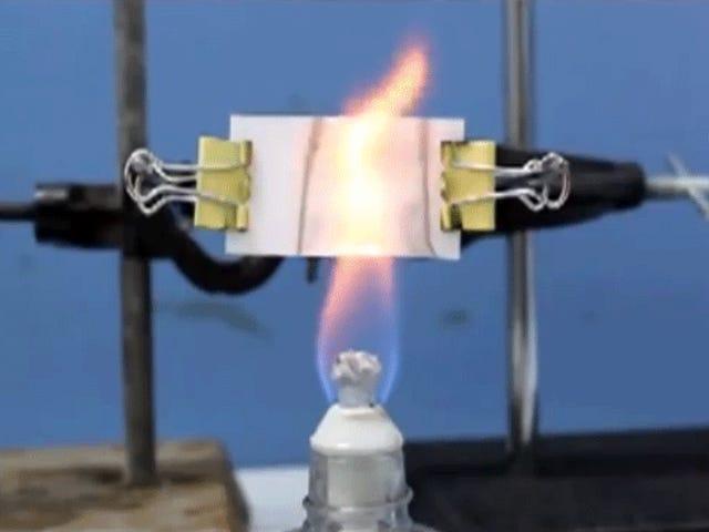 Le papier peint à détection d'incendie transforme des pièces entières en un meilleur détecteur de fumée