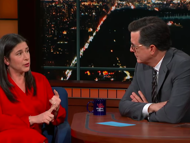 Good And Mad author Rebecca Traister teaches Stephen Colbert about history's overlooked angry women