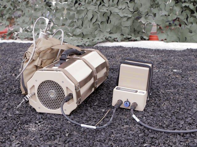 Crazy But Genius de la DARPA prévoit de remplacer les piles au propane