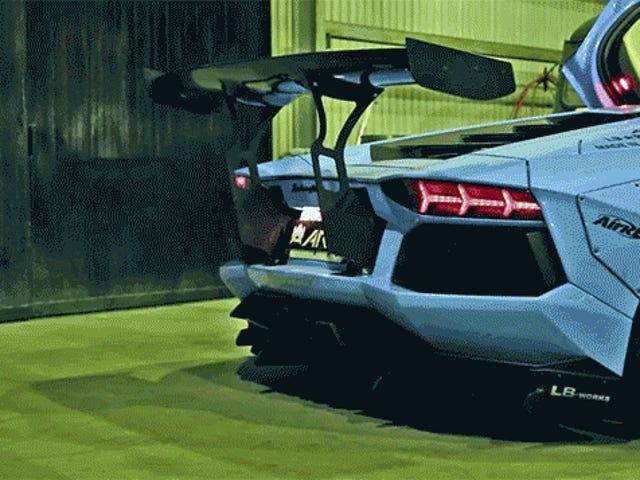 Japanese BBQ Starts With A Lamborghini V12