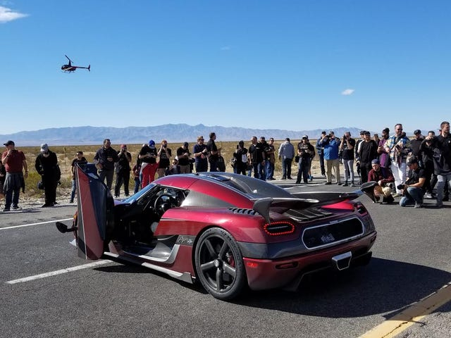 The Koenigsegg Agera RS Is Only The Second Car To Smash A Nazi Speed Record That Stood For 75 Years