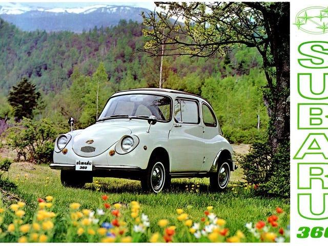 Vuodesta 1968 Yhdysvaltoihin tuotiin noin 10 000 Subaru 360: ta