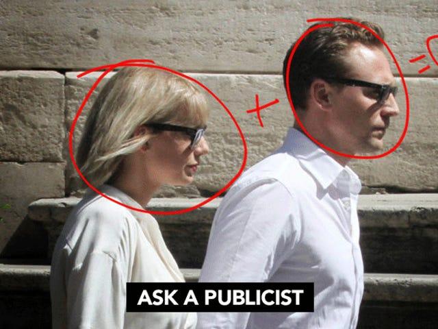 Pregúntele a un publicista: ¿Es la relación de Taylor Swift y Tom Hiddleston una configuración total de relaciones públicas?