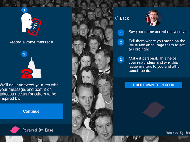 This App Sends Your Message to Your Congressperson's Voicemail—And Also to The Entire World