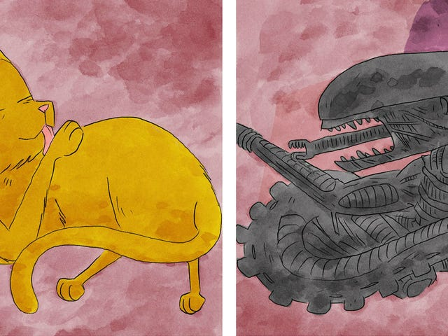 Jonesy From AlienNow Has His Own Illustrated Book, and We've Got Your First Look