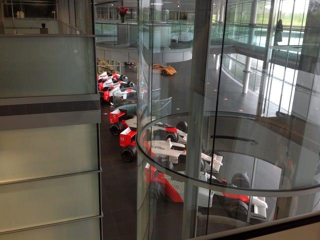 McLaren Morning Routines