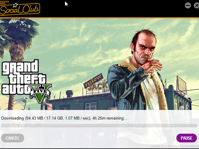 So I haven't opened GTA V in a while.